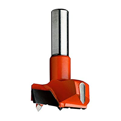 CMT 317.350.11 Hinge Boring Bit, 35mm (1-3/8-Inch) Diameter, 10x26mm Shank, Right-Hand Rotation