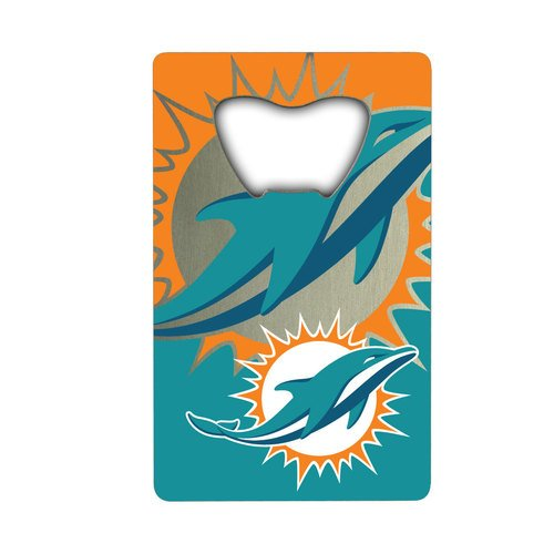NFL Miami Dolphins Credit Card Style Bottle Opener