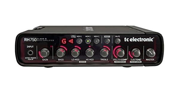 TC Electronic RH750 - Amplificador cabezal para bajo, 750 W: Amazon.es: Instrumentos musicales