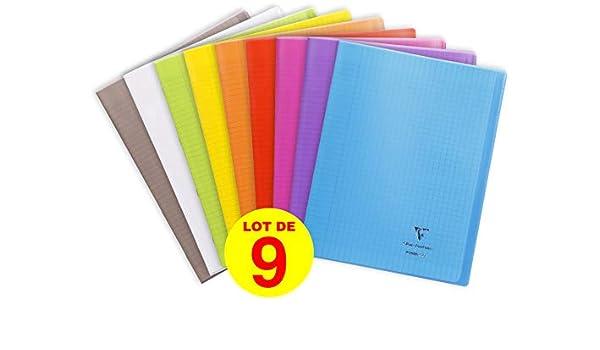 Clairefontaine 981490AMZC Koverbook - Cuaderno de cuadrícula (96 ...