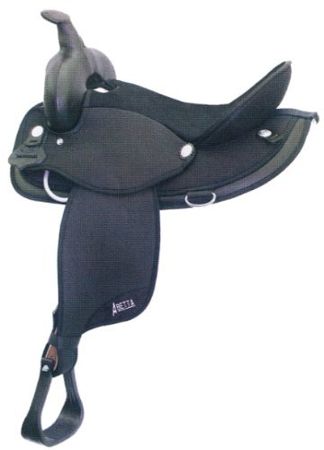 (ABETTA Cordura Flex Trail Saddle 16In Black)