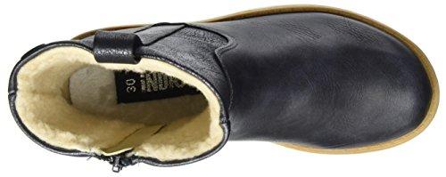 Canadians Mädchen 464 045 Biker Boots Blau (Navy)