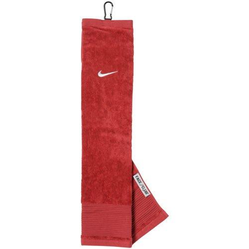 - Nike 63521202 Face Club Tri-Fold Golf Towel, Red & White
