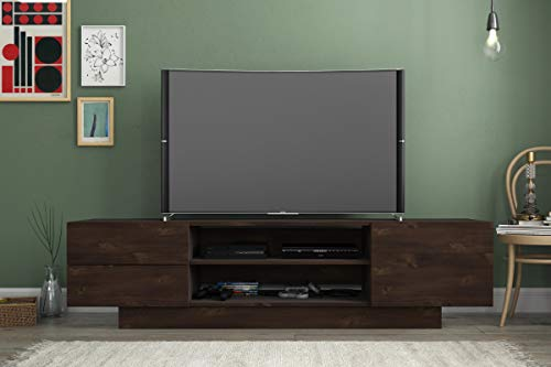 Nexera 115461 Morello, Truffle 72-inch TV Stand,