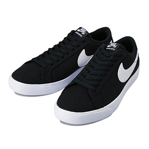 Nike Men's Sb Blazer Vapor Txt Black/Black Skate Shoe Black/White