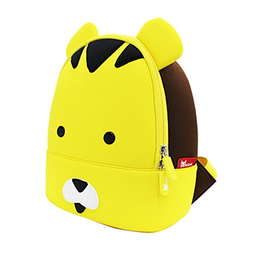 Nohoo Boys Girls 3d School Bag Animal Cartoon Kids Backpack Toddler Bookbag (Tiger)
