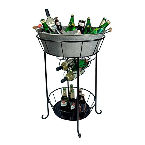 Artland Masonware Party Station, Galvanized, Metal