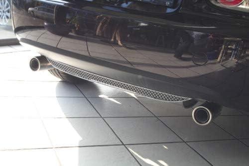 Mazda Mx 5 Nc Edelstahl Kühlergrill Hinten 1 Teilig 2005 2009 Auto