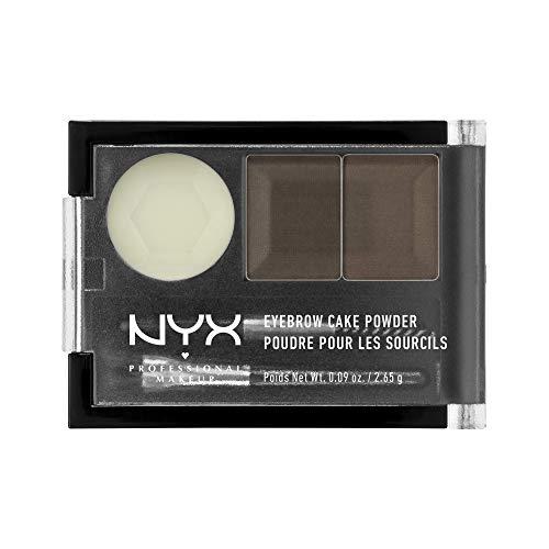 NYX PROFESSIONAL MAKEUP Eyebrow Cake Powder Dark Brown/ Brown