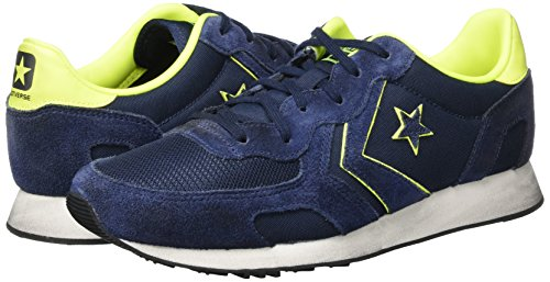 Blu giallo Uomo Sneaker Converse Basse Racer Ox Auckland Tax1va
