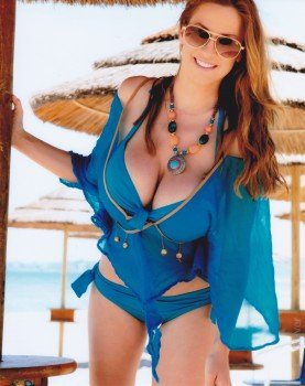 Jordan Carver Busty Redhead Sexy Babe Adult Model Star X Photograph Picture