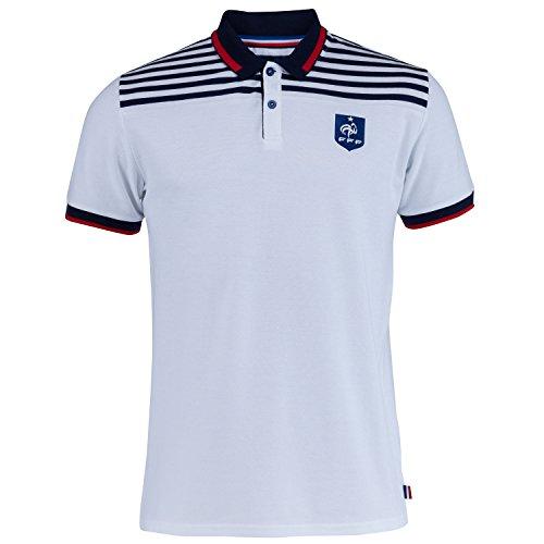 Camiseta de la selección francesa de fútbol FFF, colección oficial, talla S