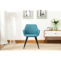 Porthos Home Maureen Leisure Chair (Set of 2), Blue
