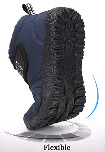 SAGUARO SAGUARO Stringate Blu Donna Caldo Uomo Stivaletti Stivali Boots Antiscivolo Caviglia All'aperto New Piatto Scarpe Pelliccia Neve Invernali rqwrxvBa
