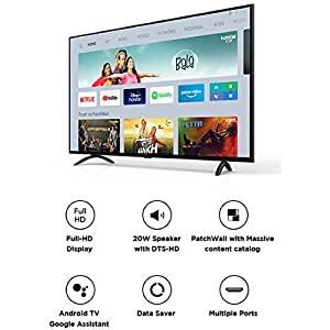Mi TV 4A PRO 108 cm (43 Inches) Full HD Android LED TV (Black) | With Data Saver