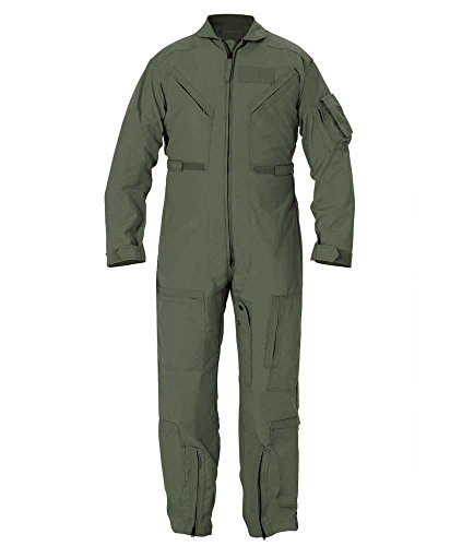 Propper Cwu 27/P Nomex Flight Suit,Freedom Green,52 Long by Propper