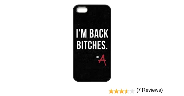 Material de Goma Resistente Personalizable Pretty Little Liars Cita iPhone 5 y 5S Back Cover Case: Amazon.es: Electrónica