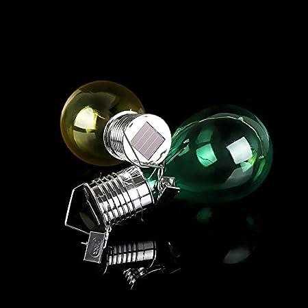 Amazon.com: Amyove Bombilla colgante de energía Solar Sensor de luz, Lámpara LED, Lámpara decorativa de paquete, lámpara para Camping de jardín Exterior: ...