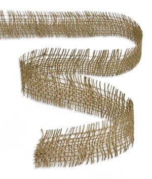 LinenTablecloth Jute Ribbon, 1.5-Inch by 10-Yard, Natural