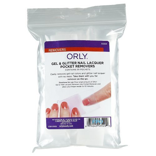 Orly Gel and Glitter Nail Lacquer Pocket Removers by Orly