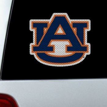 Fremont Die NCAA Auburn Tigers Large Window Film, 12
