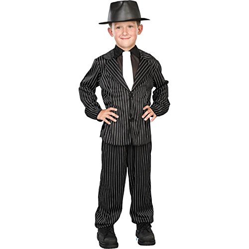 [Childs Gangster Costume (Size:Medium 8-10) by Seasons] (Gangster Hats For Sale)