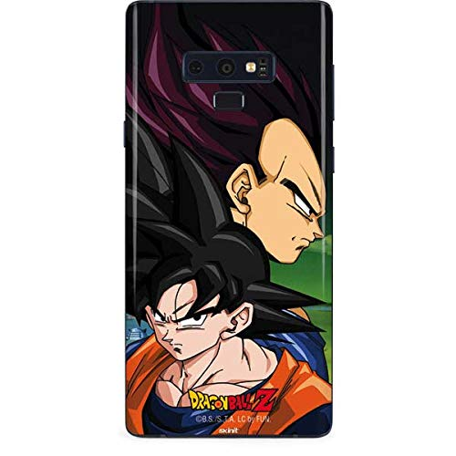 (Skinit Dragon Ball Z Goku & Vegeta Galaxy Note 9 Skin - Officially Licensed Dragon Ball Z Phone Decal - Ultra Thin, Lightweight Vinyl Decal Protection )