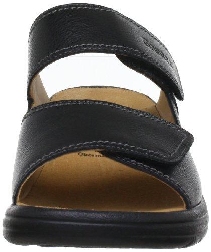 Ganter AKTIV Fabia, Weite F 5-202317-01000 - Zuecos de cuero para mujer Negro