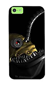 Dionnecortez Durable Steampunk Anglerfish Back Case/ Cover For Iphone 5c For Christmas