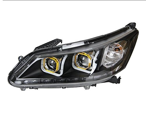 GOWE Car Styling For Subaru Outback 2010-2014 for Outback head lamp LED DRL Lens Double Beam D2H HID Xenon bi xenon lens Color Temperature:8000K Wattage:35W 1