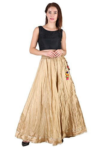 Gold Long Skirt - 7