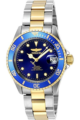 Invicta Men 8928OB Pro Diver gold stainless steel two-tone automatic watch