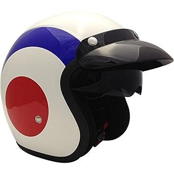 Casque À Bleu Rs V06 Moto De Ouvert Viper Visage Cible UVSzMpq