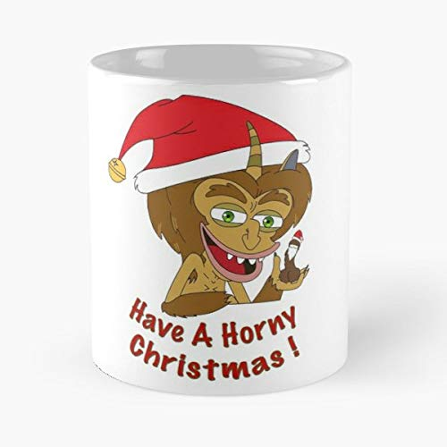 (Big Mouth Maury Maurice Hormone Monster - 11 Oz Coffee Mugs Unique Ceramic Novelty Cup, The Best Gift For Christmas.)