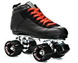 Epic Skates Evolution Black Speed Skates, Mens 11