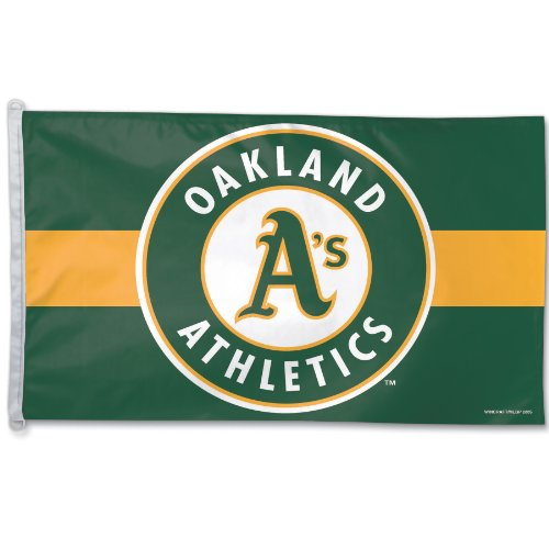 WinCraft MLB Oakland Athletics 3-by-5 foot Flag
