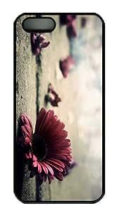 covers shop Petals PC Black Case for iphone 5/5S