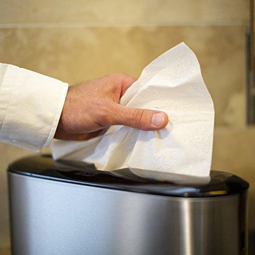 Tork Image Design Xpress Countertop Multifold Hand Towel Dispenser H2/H23, Image Design - Paper Towel Dispenser 302030, One-at-a-time Dispensing, Stainless