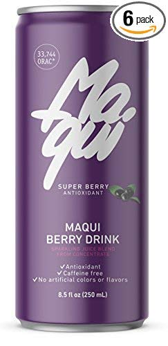 Maqui Berry Drink | Most powerful Antioxidant superfruit in the world | High vitamin C content | Without artificial colors or flavors | 250 ml can (6 pack) | Non GMO |