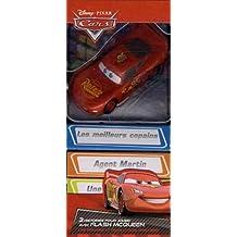 3 histoires pour jouer avec Flash McQueen : Une figurine et trois livres d'histoire