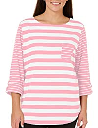 Plus With Love Striped Top