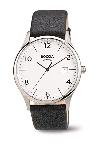 3585-01 Mens Boccia Titanium Watch