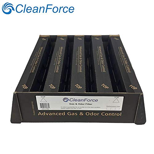 Healthpro Plus Air - CleanForce V5-Cell Gas and Odor Filter, Adapt IQAir HealthPro Plus air Purifier