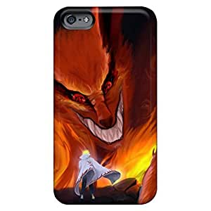 Bumper phone carrying skins Awesome Phone Cases Abstact iphone 5 5s - naruto shippuden kyuubi yondaime minato namikaze