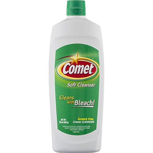 Comet Disinfecting Cleanser - Comet Soft Cleanser Cream, 24 Ounce