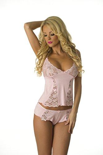 (Velvet Kitten Sexy Cami Pajama Set 3210 XL Pink)