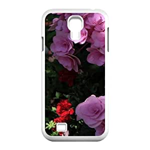 Beautiful flowers For Samsung Galaxy S4 9500 Best Durable Case OIK381194