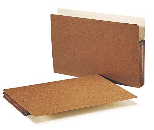 Smead File Pocket, Straight Cut Tab, 1-3/4