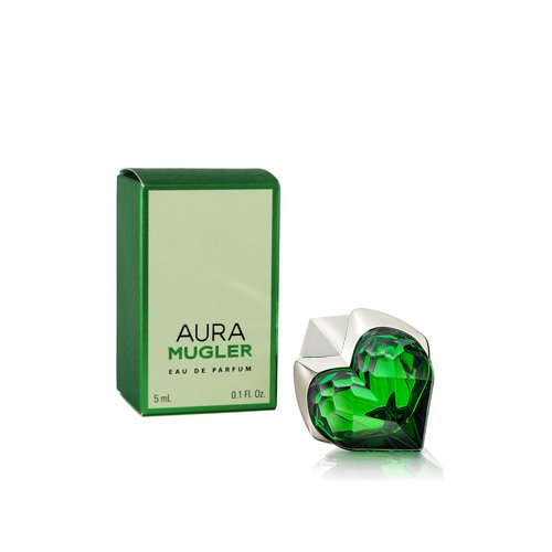 Aura Mugler by Thierry Mugler Eau de Parfum Miniature Splash 0.1 Ounce Miniature