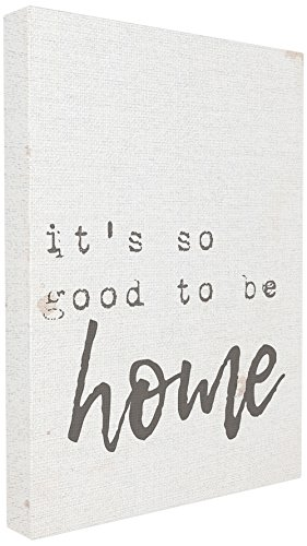 (The Stupell Home Decor Collection Its So Good to Be Home Typewriter Typography Oversized Stretched Canvas Wall Art 24 x 30 Gallery)